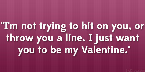 be my valentine quotes