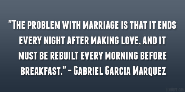 Problem With Marriage