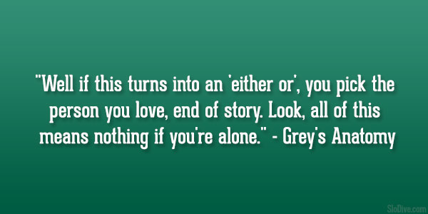 Greys Anatomy Love Quotes 32 Fascinating Greys Anatomy Quotes Greys Anatomy Love Quotes