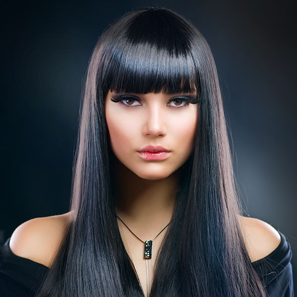 beautiful brunette 29 Tasteful Haircuts For Long Straight Hair