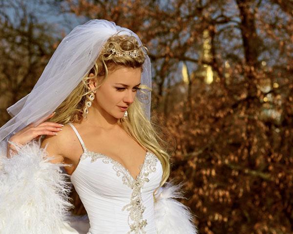 Wedding Half Up Hairstyle