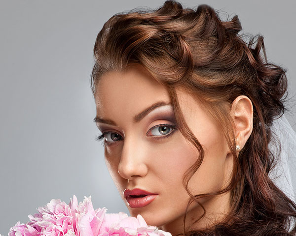 Alluring Updo Style