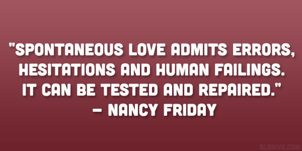 Nancy Friday Quote