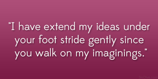 Foot Stride Gently