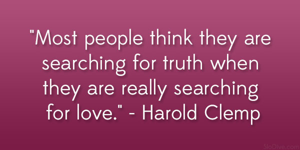 Harold Clemp Quote