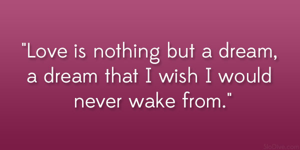 Never Wake From