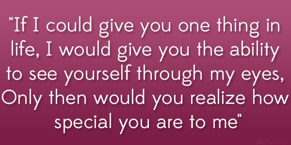 Realize How Special