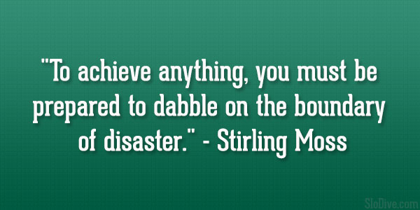 Stirling Moss Quote