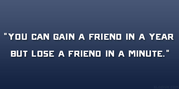 Quotes About Loss Of Friendship Awesome 28 Reflective Lost Friendship Quotes
