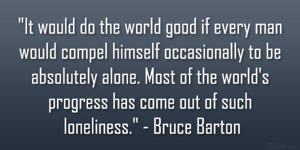 Bruce Barton Quote