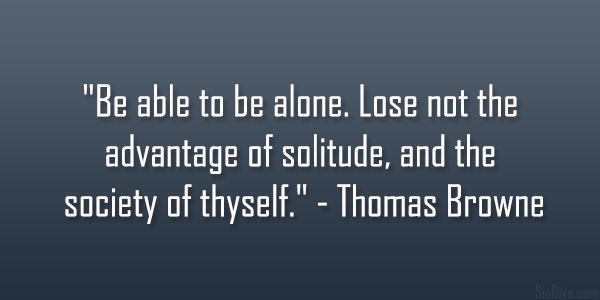 Thomas Browne Quote