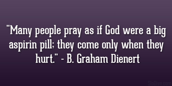 B. Graham Dienert Quote