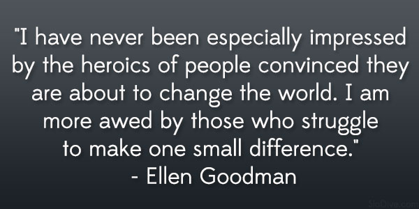 27 Electrifying Quotes About Changing The World