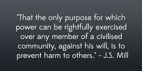 J.S. Mill Quote
