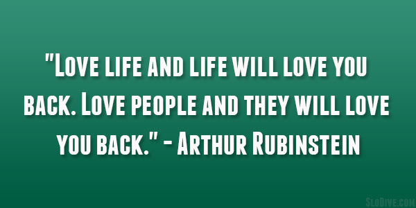 Arthur Rubinstein Quote