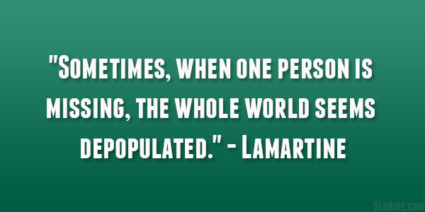 Lamartine Quote