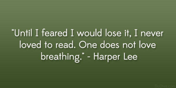 harper lee quote 31 Gripping Quotes About Losing A Loved One