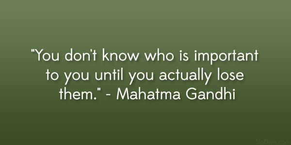 mahatma gandhi quote 31 Gripping Quotes About Losing A Loved One