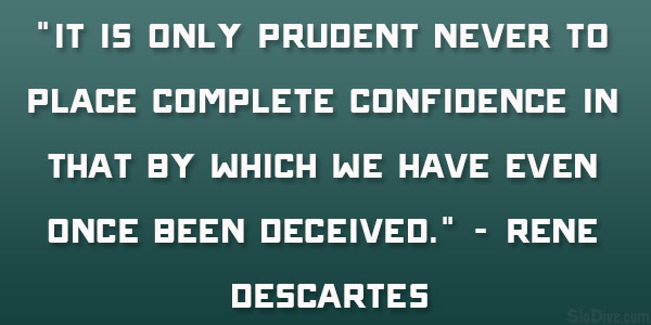 Only Prudent