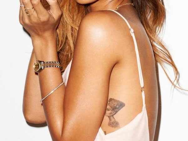 Rihanna Queen Tattoo