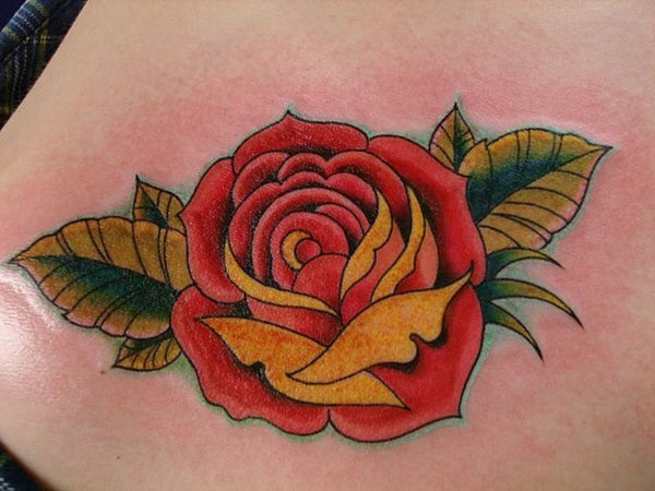 27 Fancy Rose Tattoos For 2013