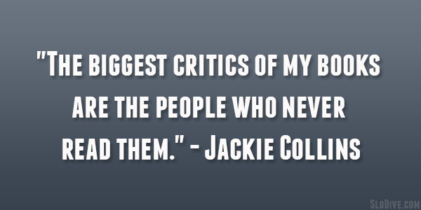 Jackie Collins Quote