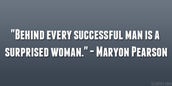 Maryon Pearson Quote