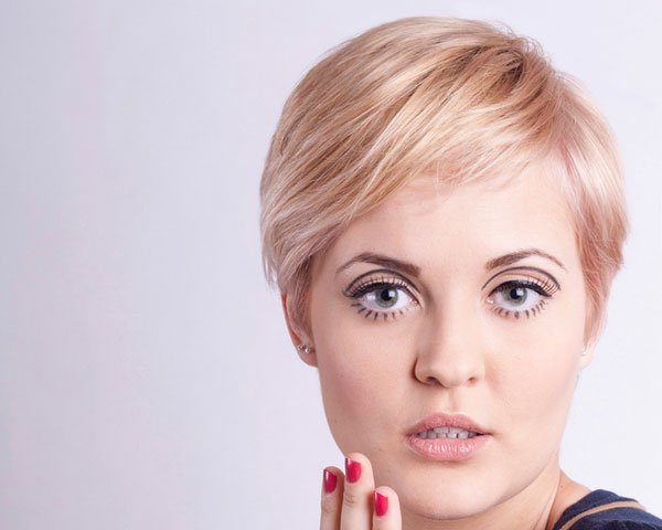 2014 Short Hairstyles for Long Faces
