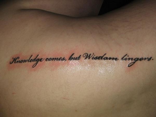 31 precious tattoo quotes for men wise quote tattoo urmus Gallery