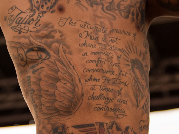 wiz khalifa 31 Precious Tattoo Quotes For Men