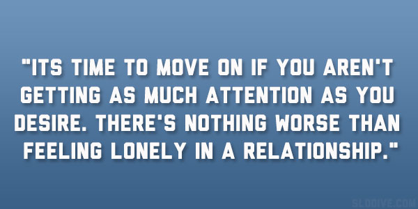 Feeling Alone In A Relationship Quotes Feeling Lonely