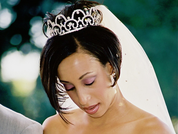 melinda hairstyle 28 Stupendous Wedding Hairstyles For Black Women