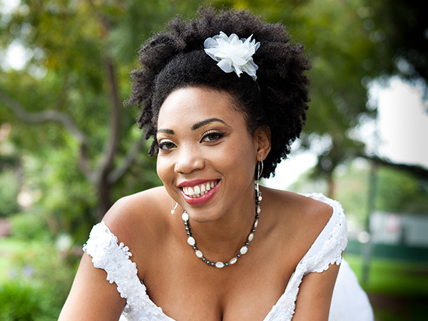 pretty ethnic bride 28 Stupendous Wedding Hairstyles For Black Women