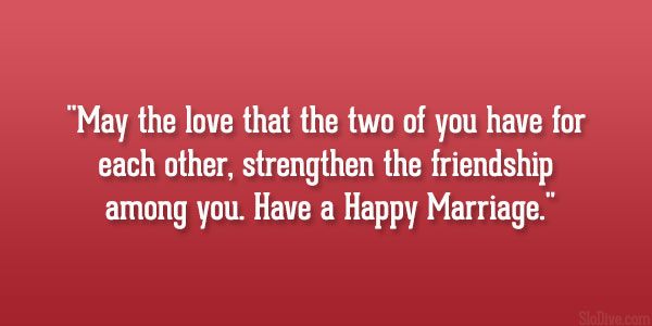 Happy Marriage