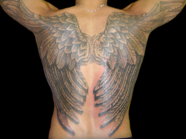 Meeting Point Wings Tattoo