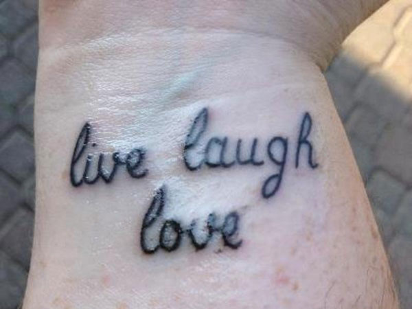 quotes 32 Colorful Wrist Tattoo Ideas