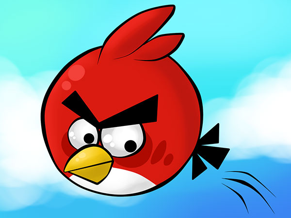 Red Angry Ball