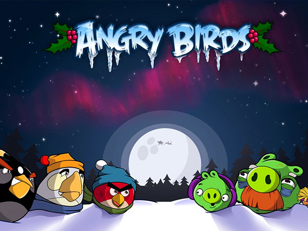 Angry Birds Christmas View