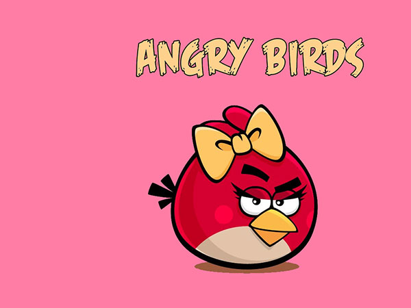 Famous Angry Birds