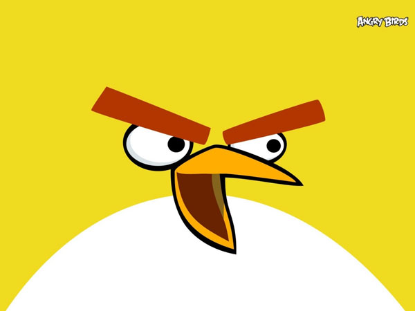 Angry Birds Yellow Theme Pic