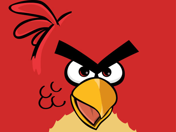 Cartoon Angry Birds Pic