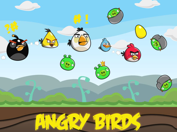 Angry Birds Illustrated