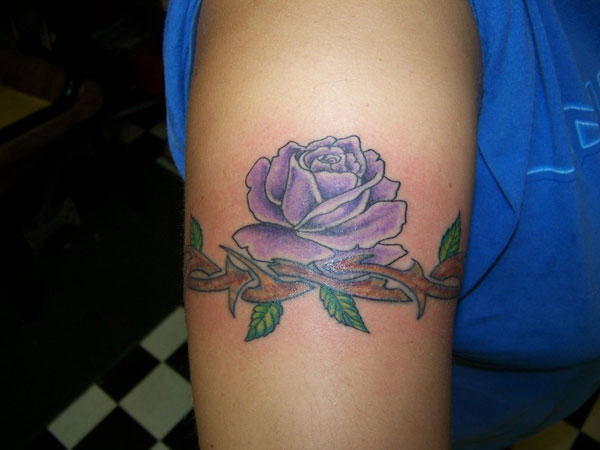 rose 22 Decorative Armband Tattoos For 2013