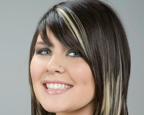 30 Sleek Black Hair With Blonde Highlights For 2013 Hairstyles