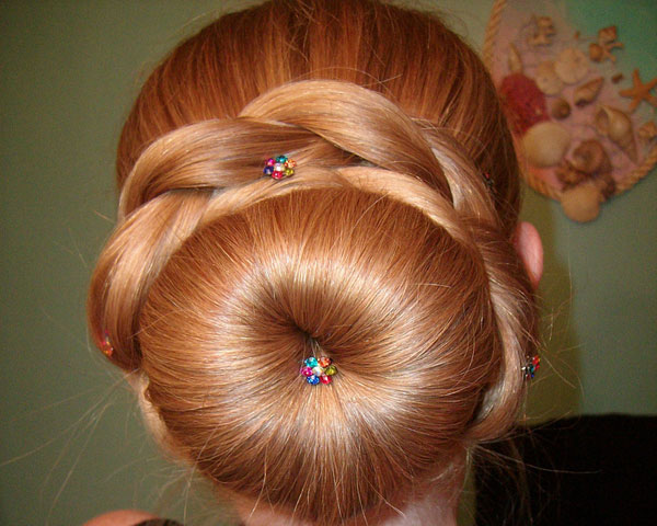 Prime How To Wrap A Braid Around Sock Bun Braids Short Hairstyles Gunalazisus