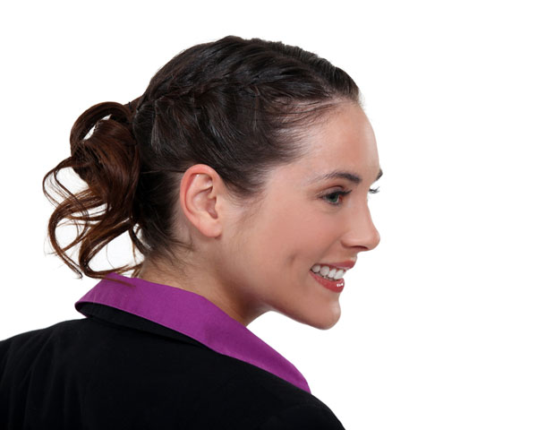 Office Updo Hairstyle