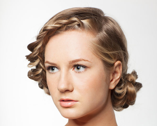 26 intricate braid updo hairstyles braid twists hairstyle pmusecretfo Image collections