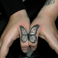 26 Exquisite Butterfly Tattoos For 2013