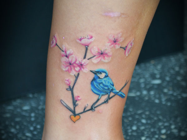 26 Gorgeous Cherry Blossom Tattoo For 2013 Designs