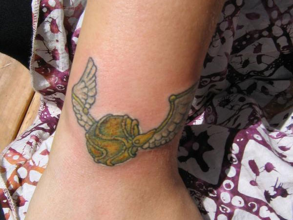Golden Snitch Tattoo